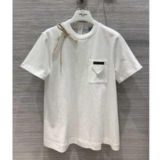 プラダ(PRADA)のお勧め!プラダ(Prada ) Tシャツ 半袖 レディース(Tシャツ(半袖/袖なし))