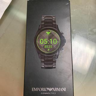 エンポリオアルマーニ(Emporio Armani)のアルマーニ スマートウォッチ 美品(腕時計(デジタル))