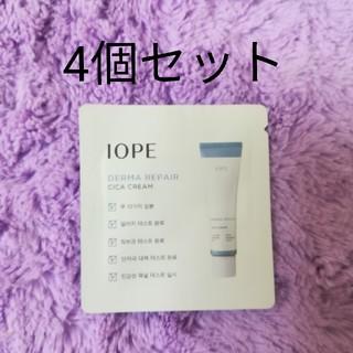 アイオペ(IOPE)のアイオペ ダーマリペア スキンケア シカクリーム サンプルパウチ 4個セット(フェイスクリーム)
