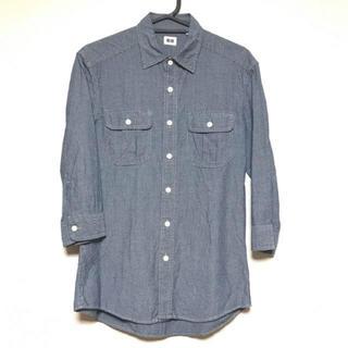 ユニクロ(UNIQLO)のメンズ ユニクロ ドット柄七分袖シャツ(シャツ)