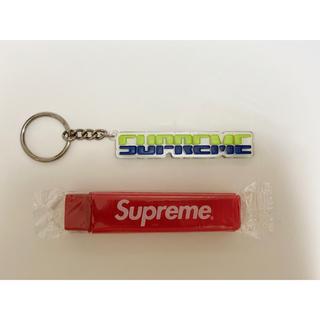 シュプリーム(Supreme)のSUPREMR キーホルダー 歯ブラシ セット売り(歯ブラシ/デンタルフロス)