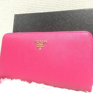 プラダ(PRADA)のPRADA プラダ長財布 ピンク(財布)