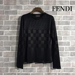 フェンディ(FENDI)のFENDI カットソー(カットソー(長袖/七分))
