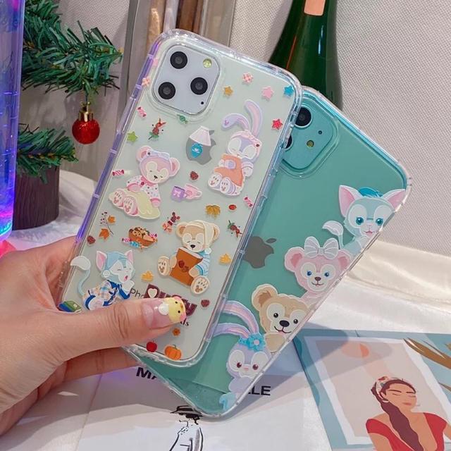 iphone 8 ケース イラスト | Disney - ダッフィー&フレンズ iPhone7/8/X/XS/XR/11/11proの通販 by koto's shop|ディズニーならラクマ