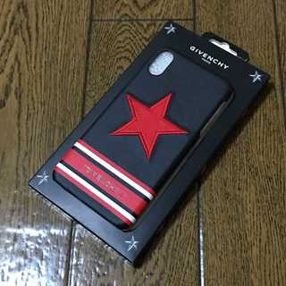 ジバンシィ(GIVENCHY)のGIVENCHY ジバンシー iPhoneXS MAX スマホケース 赤星大(iPhoneケース)