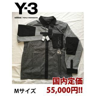 ワイスリー(Y-3)の国内完売‼️正規 新品 Y-3 切り替え Yシャツ Mサイズ(シャツ)