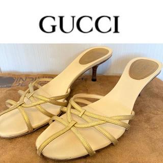 グッチ(Gucci)の☆GUCCI グッチ ミュール サイズ38(ミュール)