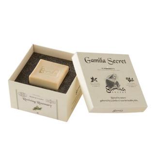 ガミラシークレット(Gamila secret)の【新品未使用】ガミラシークレット 石鹸 ローズマリー IKKO (洗顔料)