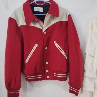 セリーヌ(celine)の新品 19AW CELINEセリーヌ テディジャケット 赤 46 エディスリマン(スタジャン)