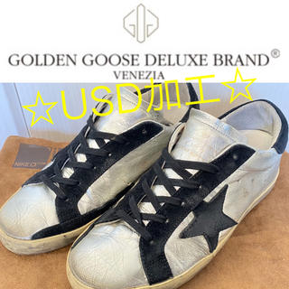 ゴールデングース(GOLDEN GOOSE)の☆GOLDEN GOOSE  ゴールデングース SUPER STAR  (スニーカー)