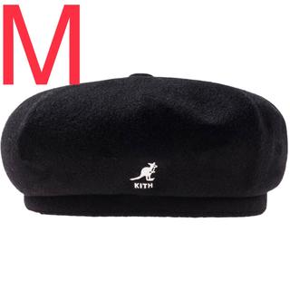 カンゴール(KANGOL)のM キース キス カンゴール ウール ハット ベレー帽(ハンチング/ベレー帽)