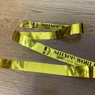 シャイニー(SHINee)のSHINee 銀テープ(アイドルグッズ)