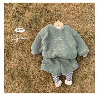 PETIT BATEAU - [未使用タグ付き]チャーリーブラウン くすみグリーン セットアップ 韓国