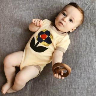 キャラメルベビー&チャイルド(Caramel baby&child )のmisha and puff ボディ ロンパース(ロンパース)