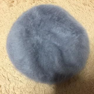 アズールバイマウジー(AZUL by moussy)のAZUL by moussy ファーベレー帽(ハンチング/ベレー帽)