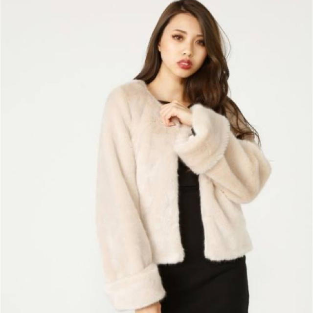 rienda(リエンダ)のファーコート♡ レディースのジャケット/アウター(毛皮/ファーコート)の商品写真