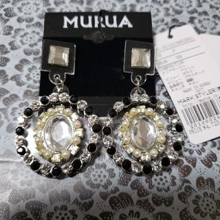 ムルーア(MURUA)のビジューサークル ピアス MURUA ムルーア(ピアス)
