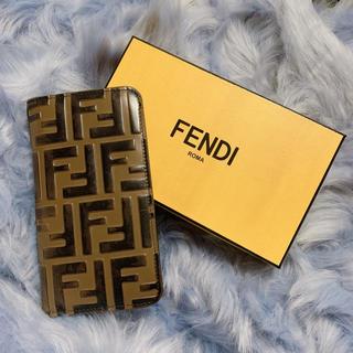 フェンディ(FENDI)の値下げしました!!FENDI iPhoneケース(iPhoneケース)