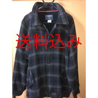 ウールリッチ(WOOLRICH)のWoolrich Wool Coat Jacket L Block Check(ブルゾン)