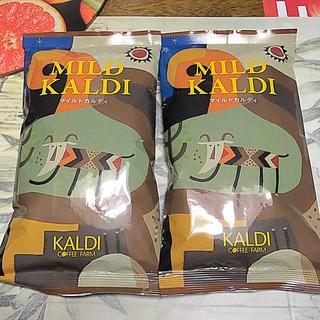 カルディ(KALDI)の送料込み! カルディ マイルドカルディ 2袋 +ショップ袋付き(コーヒー)