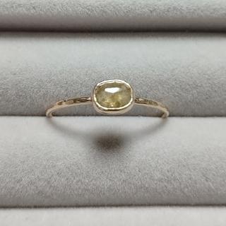 14KYGナチュラルダイヤモンドリング(12号) (リング(指輪))