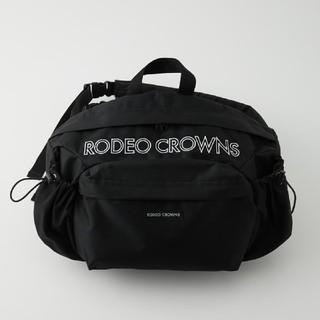 ロデオクラウンズワイドボウル(RODEO CROWNS WIDE BOWL)の新品未使用ブラック ※折り畳み圧縮して配送致します。あらかじめ御了承ください。(リュック/バックパック)