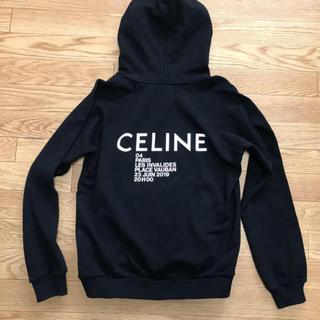 セリーヌ(celine)のセリーヌ CELINE ロゴパーカー XS エディスリマン(パーカー)