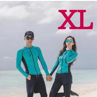 レディース ラッシュガード 5点セット  フィットネス 水着 XL(水着)