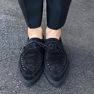 セリーヌ(celine)のceline セリーヌ クリーパー シューズ サンローラン 靴 スエード メンズ(ドレス/ビジネス)