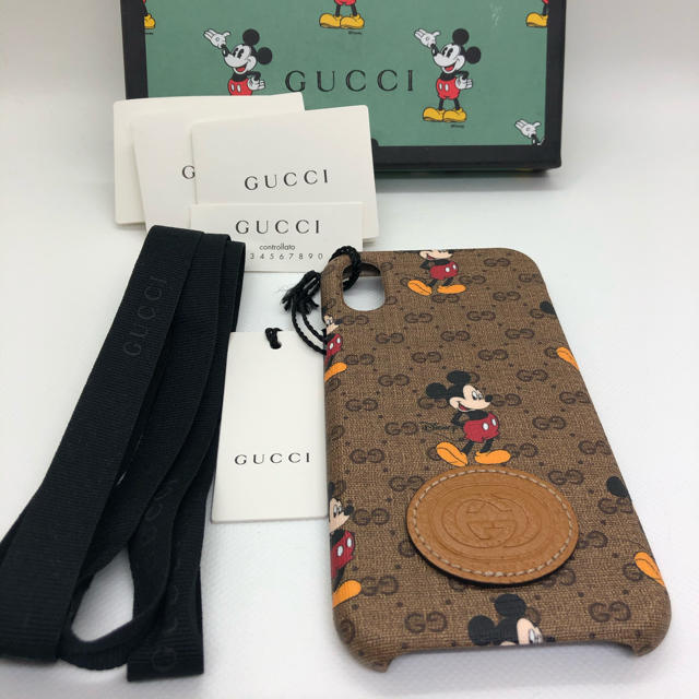 Gucci - 新品 GUCCI ディズニー iPhoneケース X/XSに対応の通販