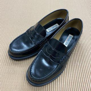 ハルタ(HARUTA)の【美品】ハルタ ローファー トラディショナル レディース 24.5cm(ローファー/革靴)