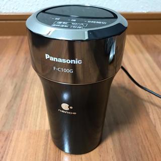 パナソニック(Panasonic)の【中古】【状態良品】車載用Panasonicナノイー空気清浄機(FC-100G)(車内アクセサリ)