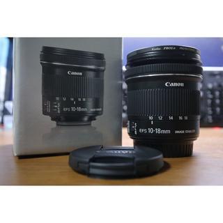 キヤノン(Canon)の【美品】EF-S 10-18mm IS STM(レンズ(ズーム))