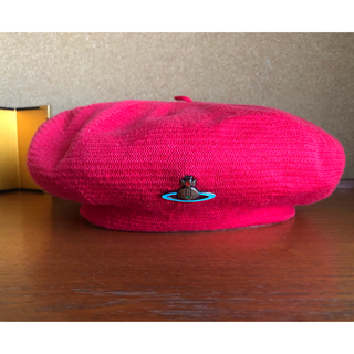 Vivienne Westwood - (超希少) (金属エンブレム )Vivienne Westwood ベレー帽 赤