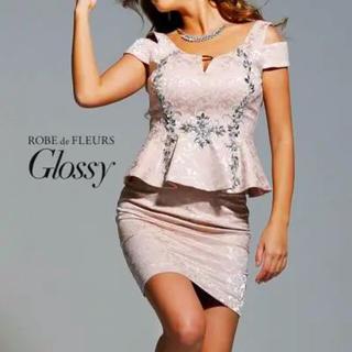 ローブ(ROBE)のROBE de FLEURS Glossy 2ピースドレス(ミニドレス)