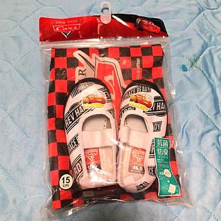 ディズニー(Disney)の新品ディズニーカーズ 上履き 15.0cm(スクールシューズ/上履き)