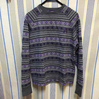 マックレガー(McGREGOR)のマクレガーバッヂドラゴン ジャガードセーター(ニット/セーター)