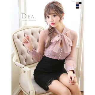ローブ(ROBE)の新品 ローブドフルール DEA ドレス(ミニドレス)