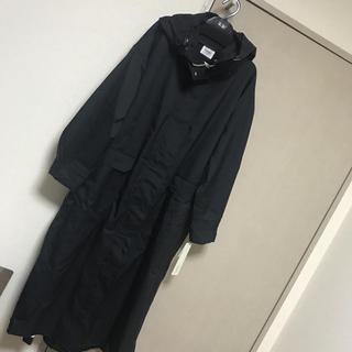 エミアトリエ(emmi atelier)の未使用タグ付き エミアトリエ  撥水ロングコート(ナイロンジャケット)