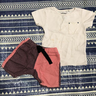 マーキーズ(MARKEY'S)のmarkey'sパンツ&オーシャンアンドグラウンド定番シンプルTシャツセット☆(パンツ)