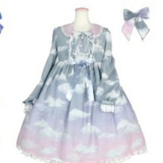 アンジェリックプリティー(Angelic Pretty)のmisty sky brilliant color angelic pretty(ひざ丈ワンピース)