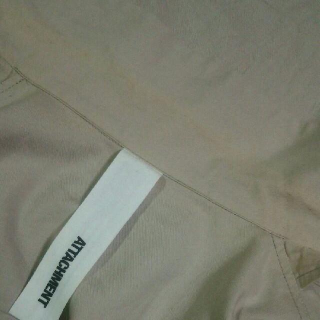 ATTACHIMENT(アタッチメント)のattachment オープンカラーシャツ サイズ3 デザイナーブランド ルード メンズのトップス(シャツ)の商品写真