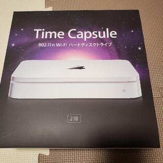 アップル(Apple)の【ひろろ様専用】Time Capsule 2TB(オフィス/パソコンデスク)