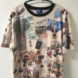 ディズニー(Disney)のDisney Tシャツ 総柄(Tシャツ/カットソー(半袖/袖なし))