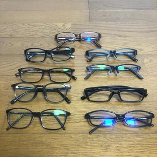 ジンズ(JINS)の即決 JINS ジンズ 眼鏡 メガネ まとめ売り 9本セット(サングラス/メガネ)