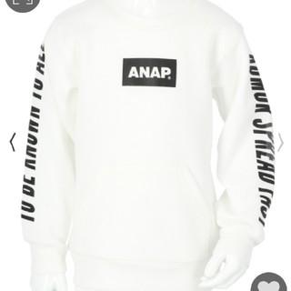 アナップキッズ(ANAP Kids)のANAPkids新品両袖プリント入りトレーナー(その他)