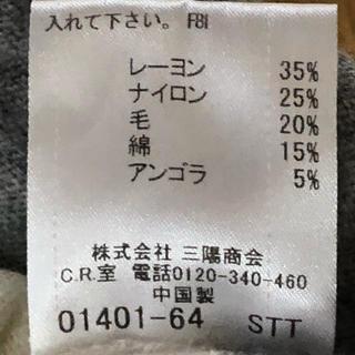 バーバリーブラックレーベル(BURBERRY BLACK LABEL)のバーバリーブラックレーベル 薄手ニットセーター サイズ3(ニット/セーター)