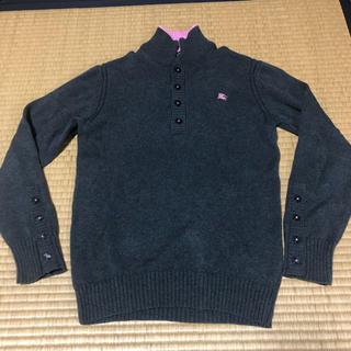 バーバリーブラックレーベル(BURBERRY BLACK LABEL)のバーバリーブラックレーベル 限定コットンニットセーター(ニット/セーター)