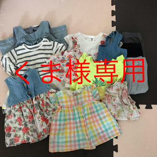 アカチャンホンポ(アカチャンホンポ)のくま様専用 70サイズ夏物女の子ベビー服まとめ売り(その他)