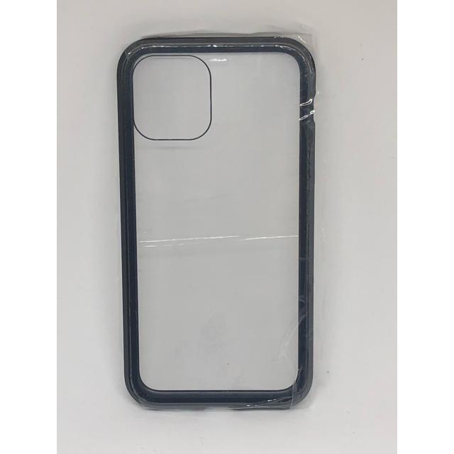 折りたたみケース iphone | 【iPhone11Pro】専用両面ガラスケース (ブラック)の通販 by コロボックル1999's shop|ラクマ